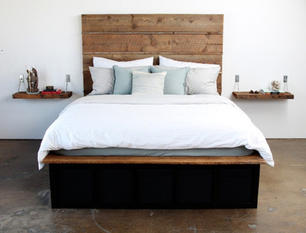 How To Make A Bed Frame With Wood
