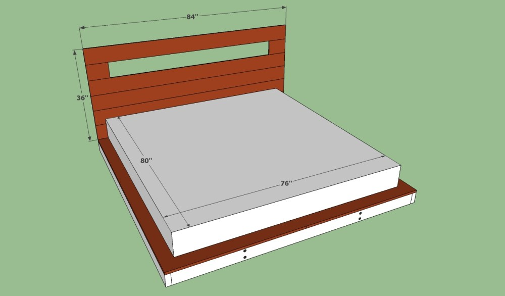 How To Make A King Size Bed Frame