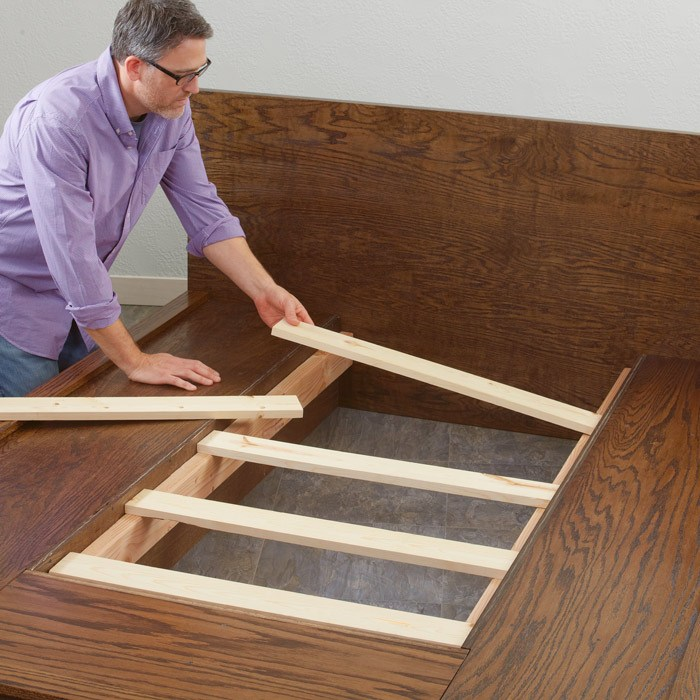 How To Make A Platform Bed Frame Queen Size