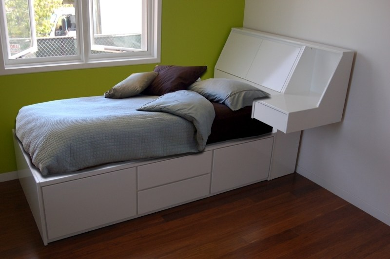 How To Make A Twin Bed Frame With Storage