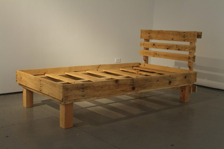How To Make Bed Frame Out Of Pallets