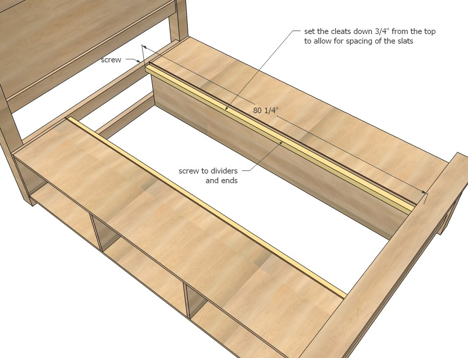 How To Make Your Own Bed Frame With Storage