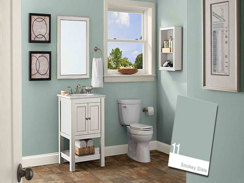 Ideas For Bathroom Decorating Colors