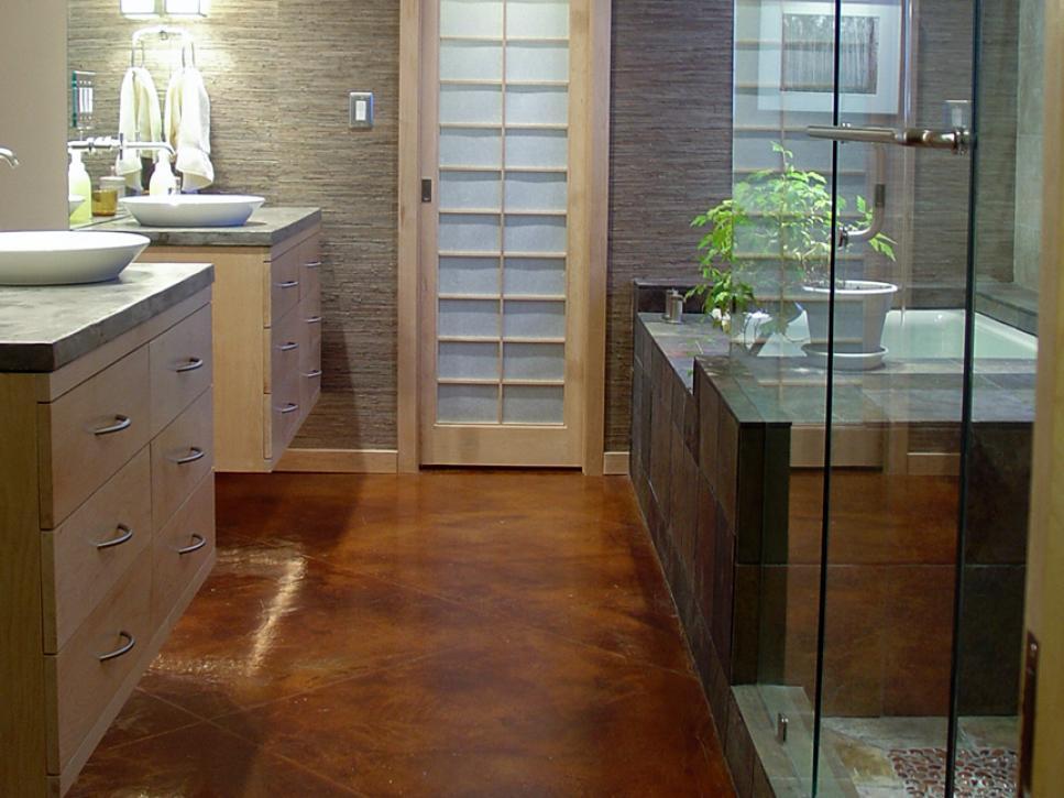 Ideas For Bathroom Floors