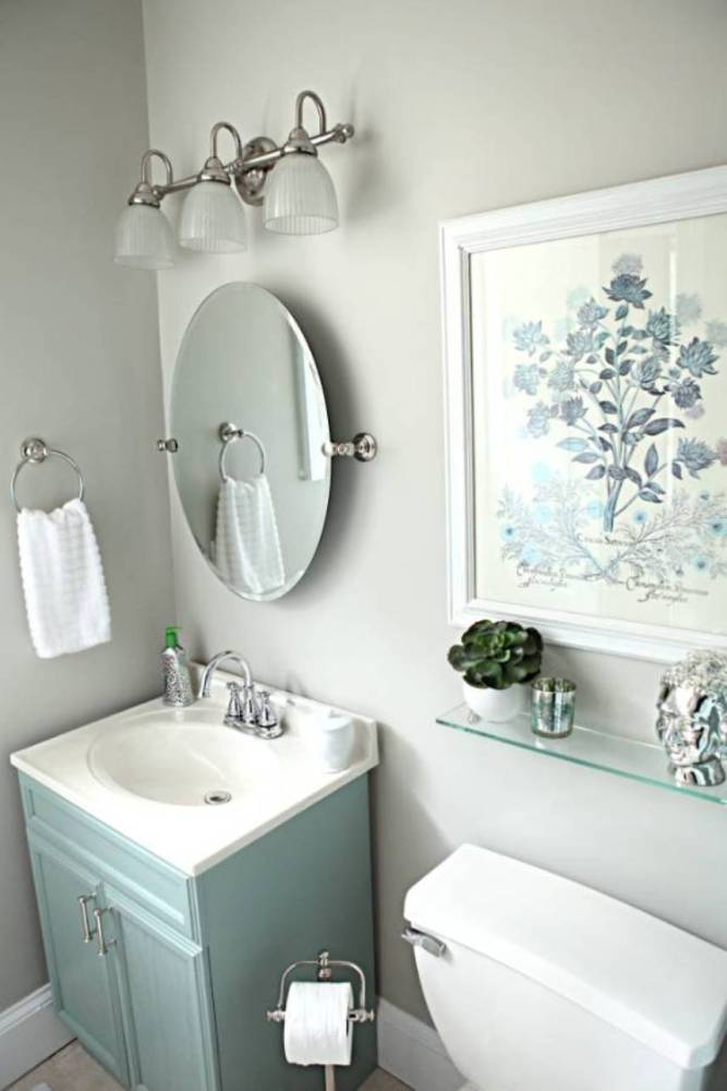 Ideas For Bathroom Walls Pictures