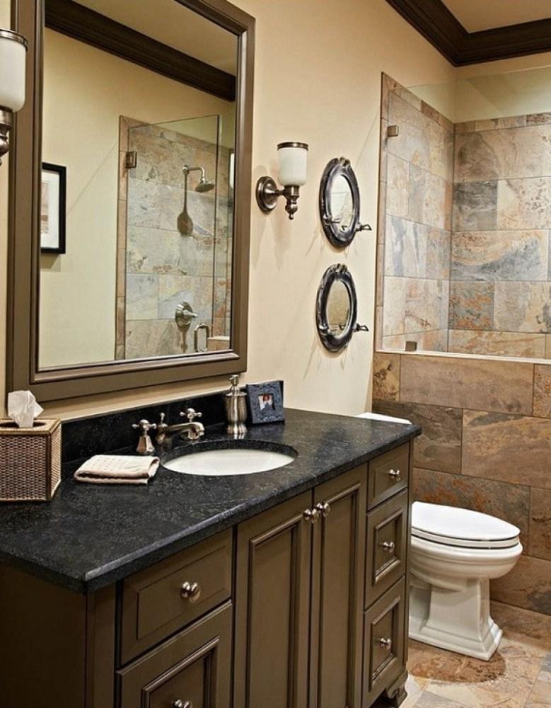 Ideas For Bathrooms Pinterest