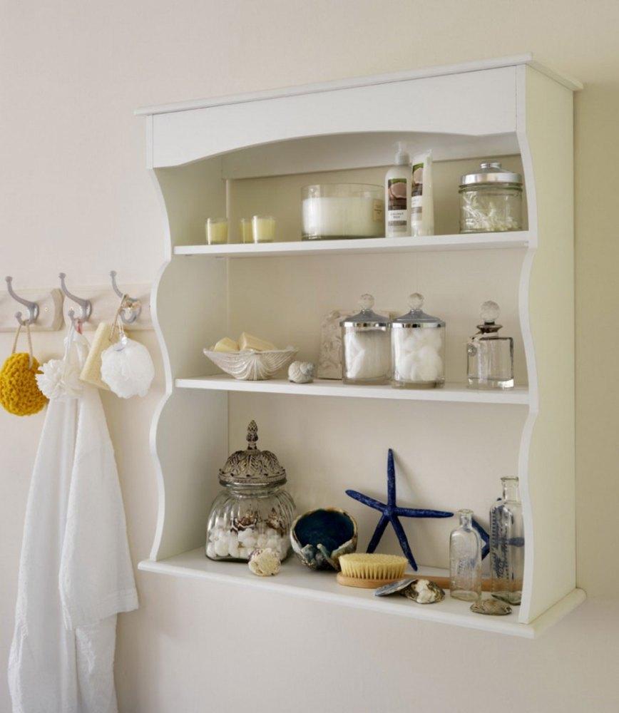 Ideas For Decorating Bathroom Shelves