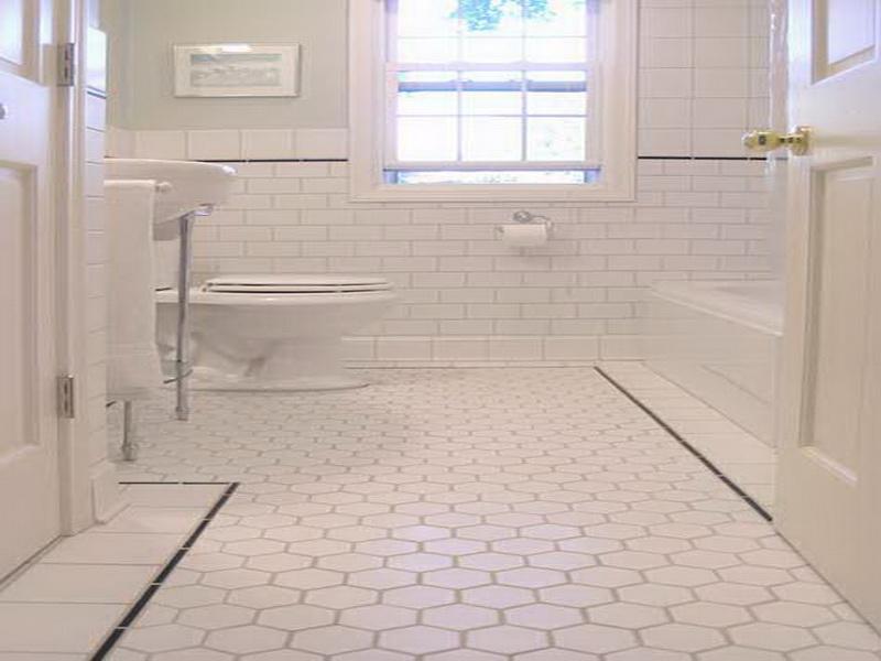 Ideas For Small Bathroom Floors