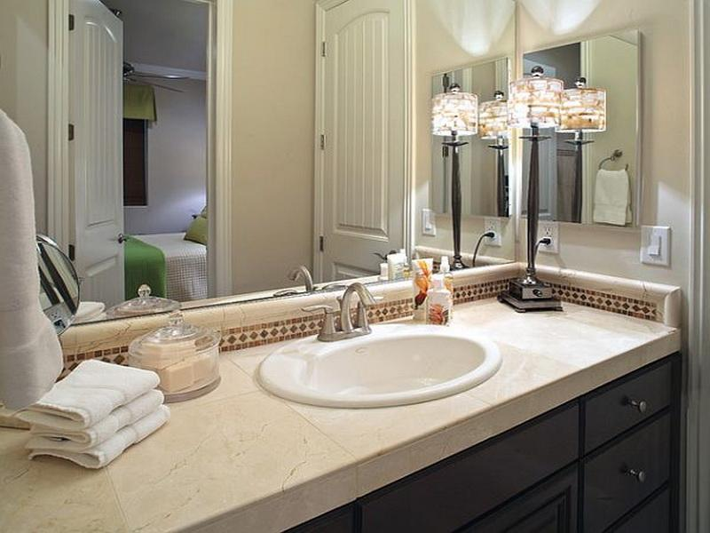 Ideas To Decorate A Bathroom Mirror