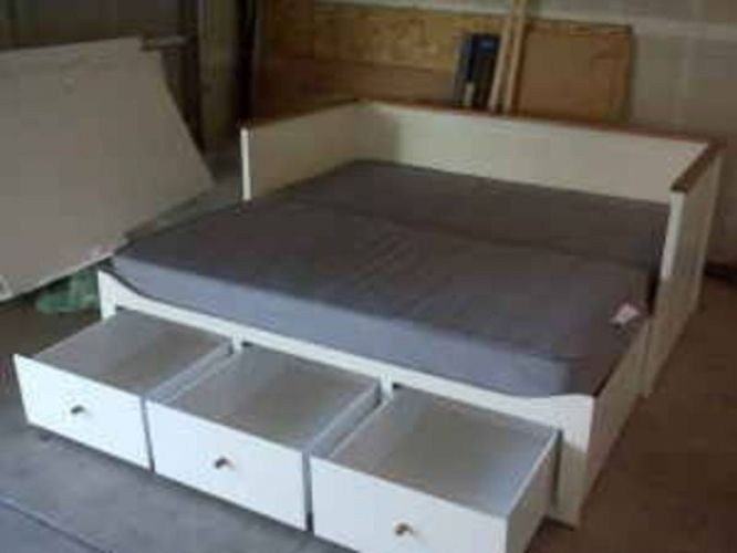 Ikea Bed Frame With Drawers Instructions