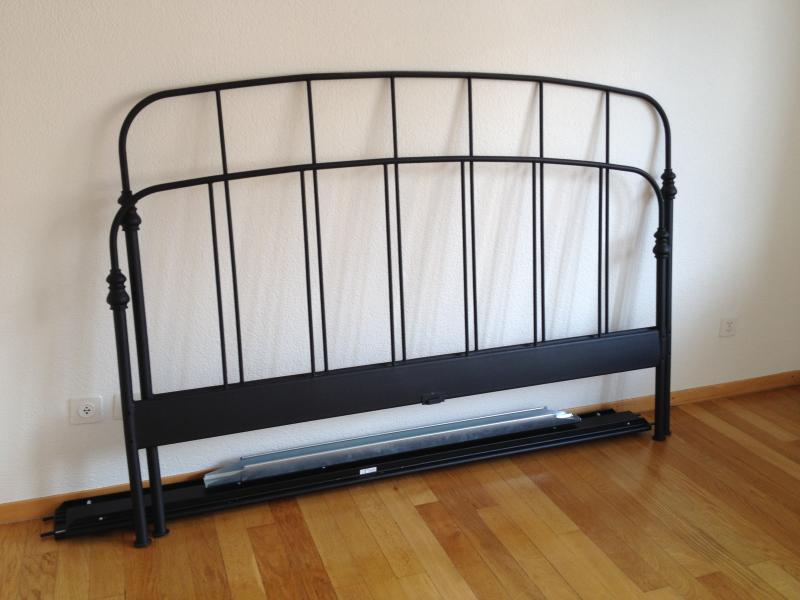 Ikea Black Bed Frame