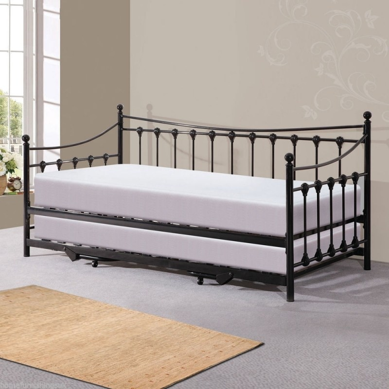 Ikea Black Iron Bed Frame
