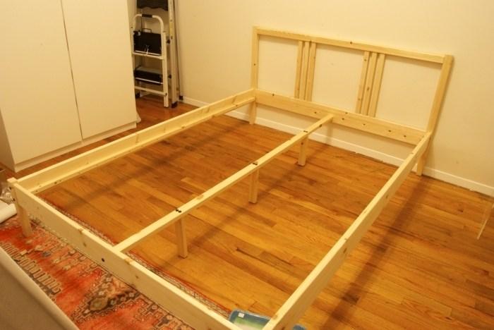 Ikea Fjellse Full Size Bed Frame