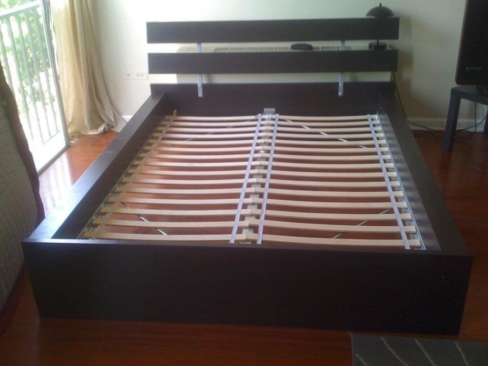 Ikea Full Bed Frame Wood