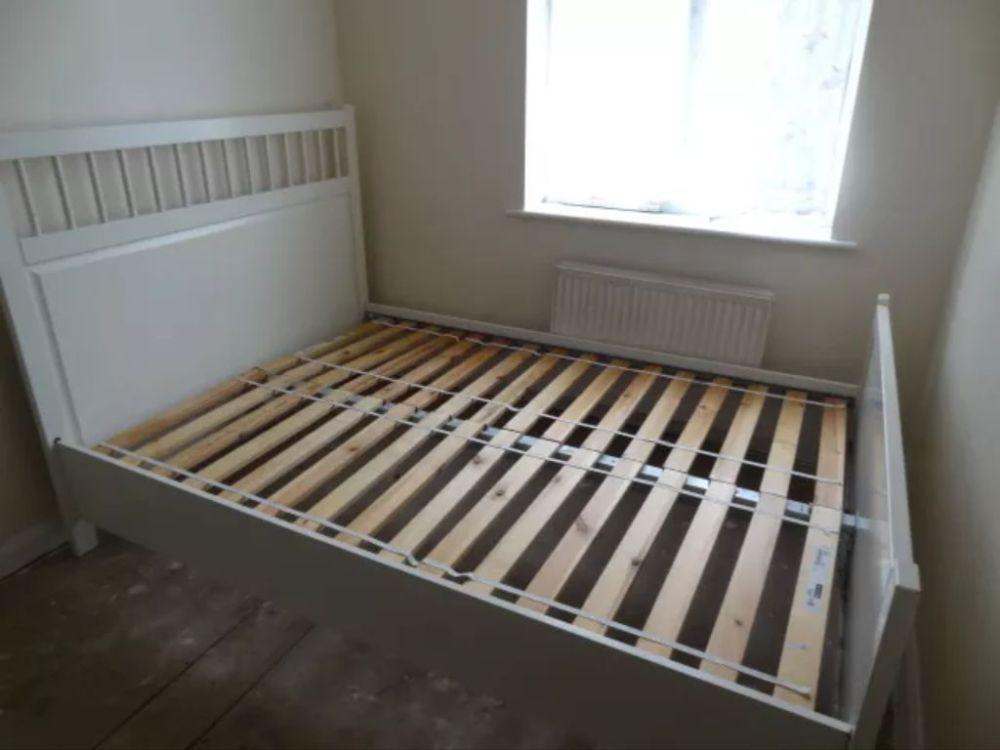 Ikea Hemnes Bed Frame White