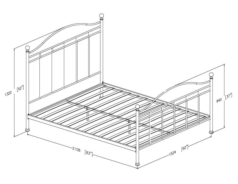 Ikea King Size Bed Frame Dimensions