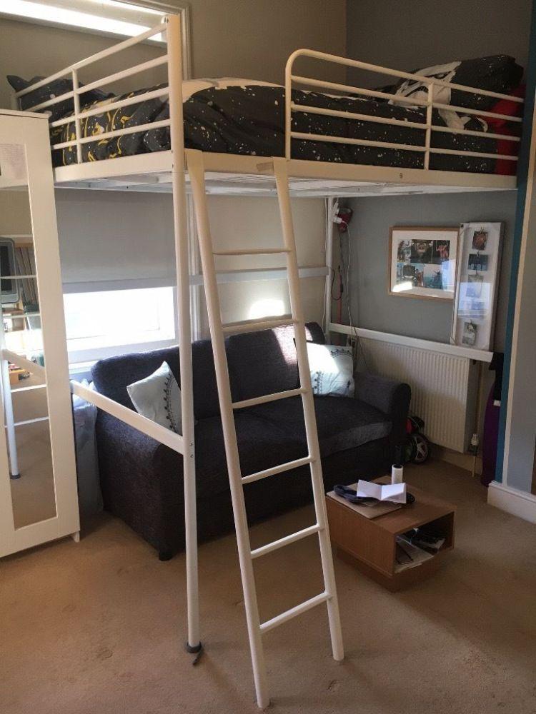 Ikea Loft Bed Frame White