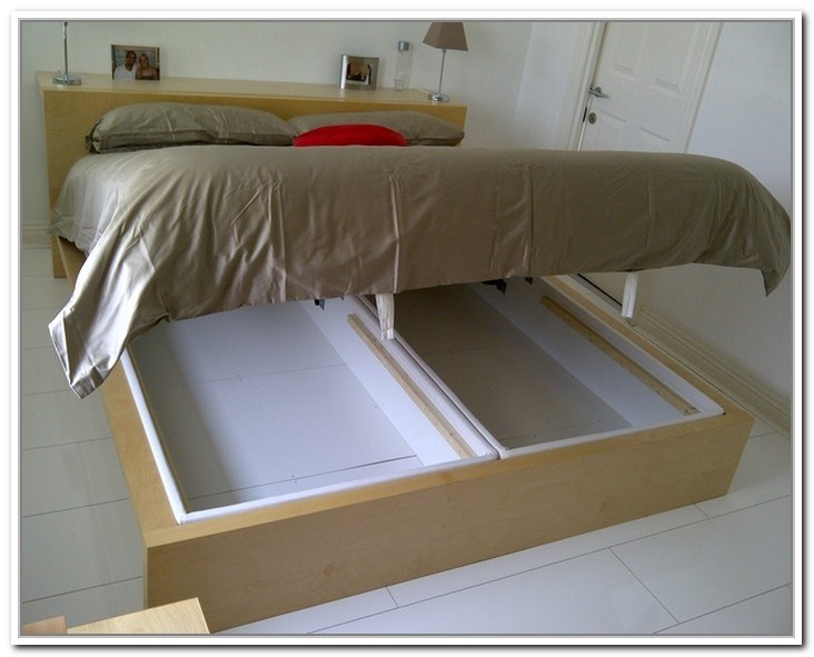 Ikea Malm Bed Frame With Storage