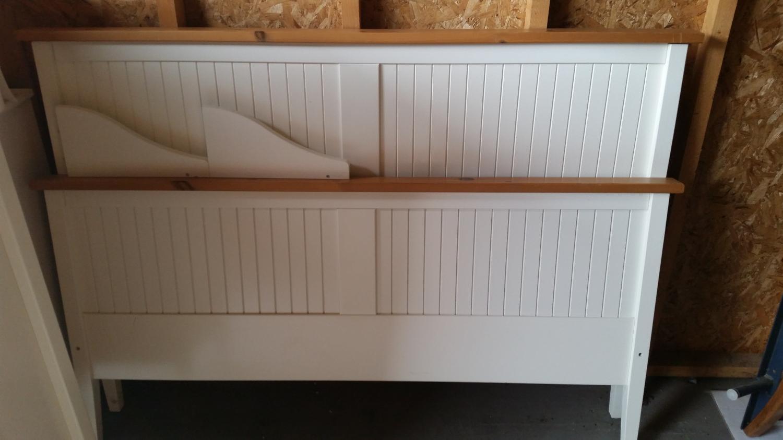 Ikea Natural Wood Bed Frame