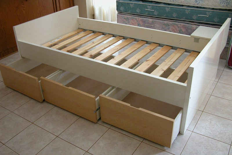 Ikea Twin Bed Frame With Storage
