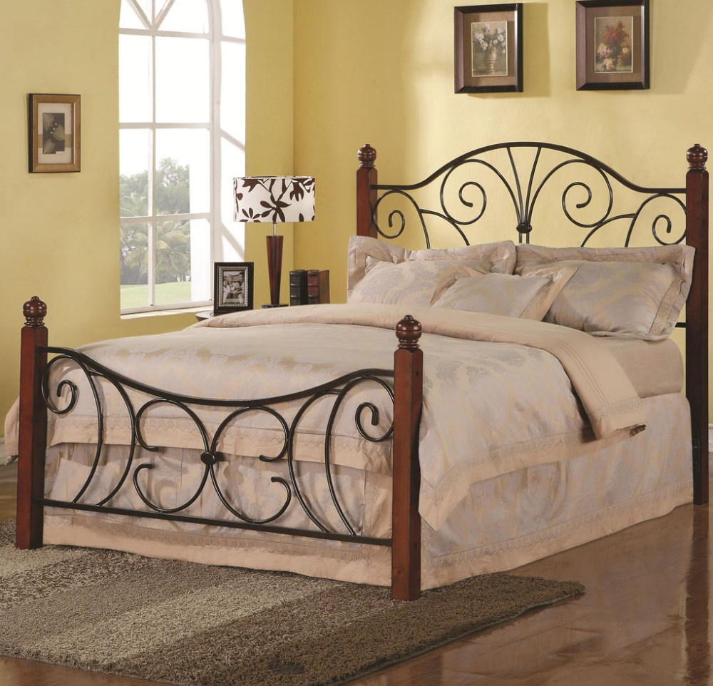 Iron Bed Frames Queen Canopy