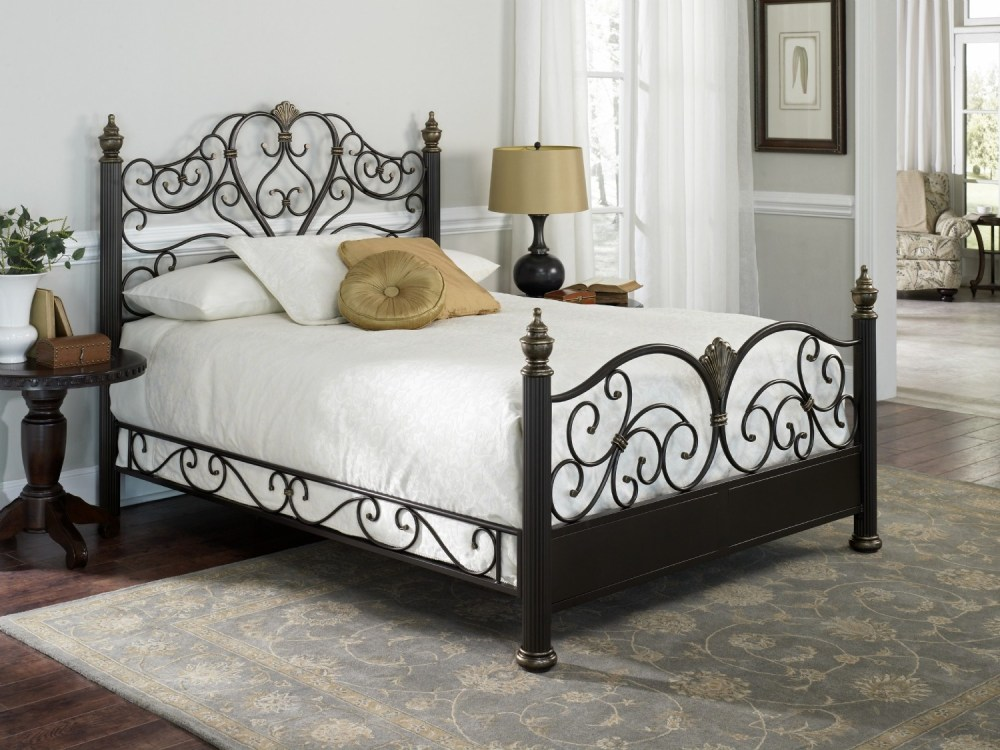 Iron Queen Size Bed Frame