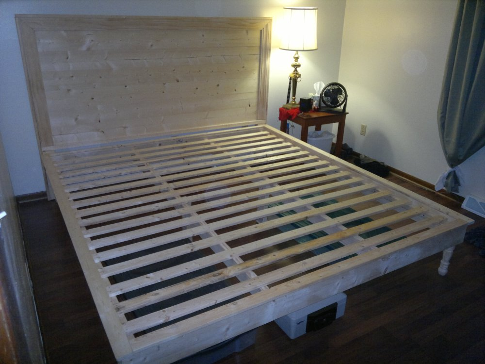King Bed Frame Plans Free