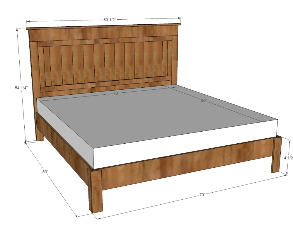 King Bed Frame Size