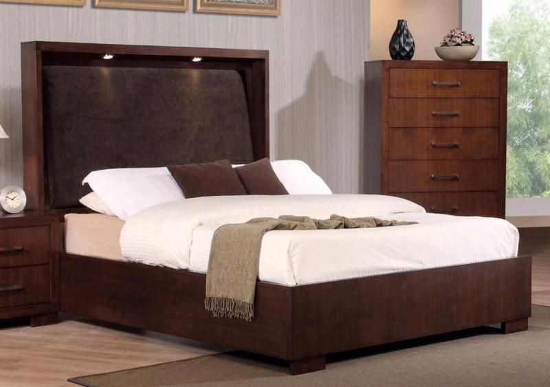 King Bed Frame White Wood