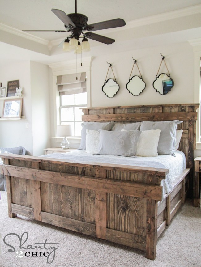 King Bed Frame With Drawers Diy