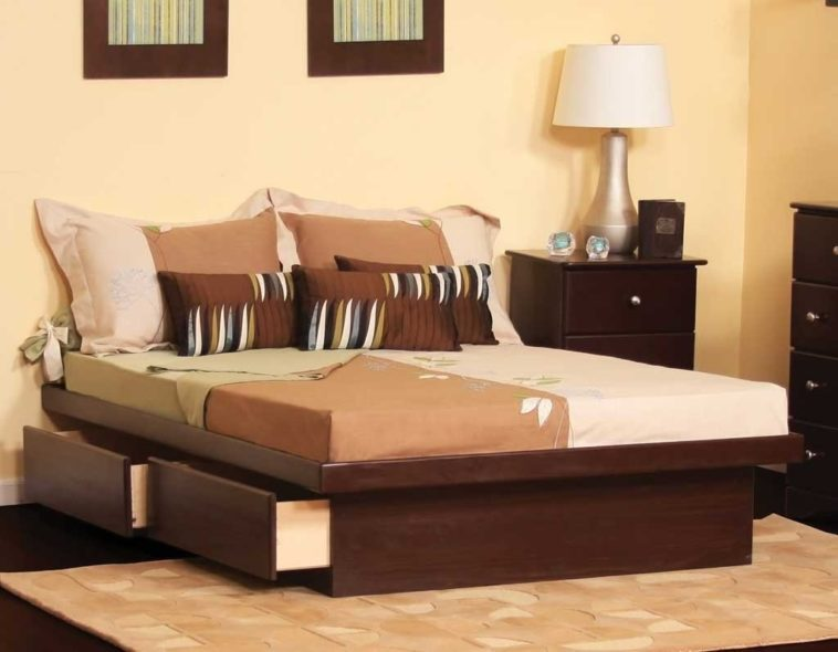 King Bed Frame Without Headboard