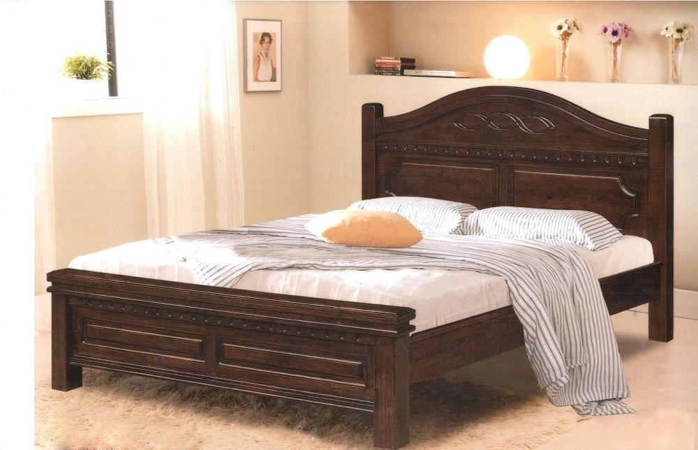 King Bed Frames With Headboard