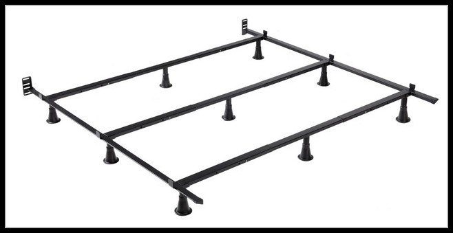 King Metal Bed Frame Assembly