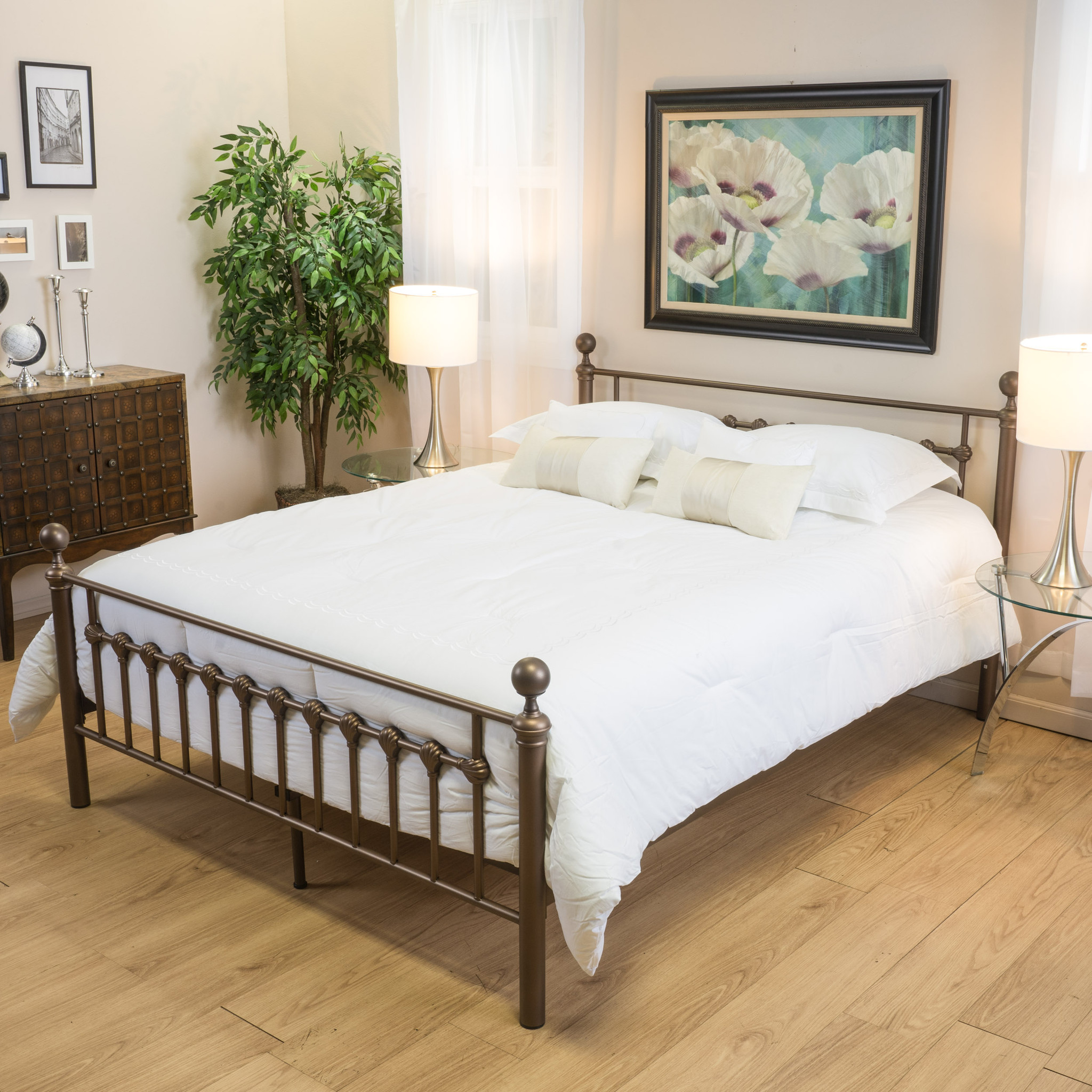 King Metal Bed Frame Canada