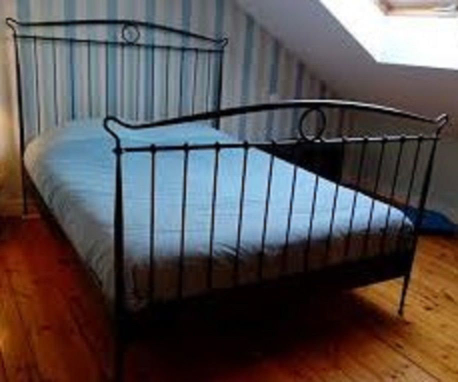 King Metal Bed Frame Ikea