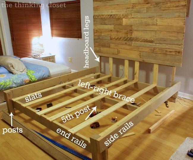 King Size Bed Frame Build