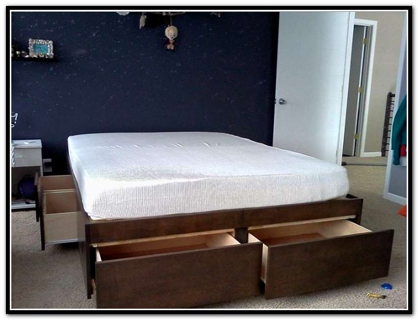 King Size Bed Frame With Storage Ikea