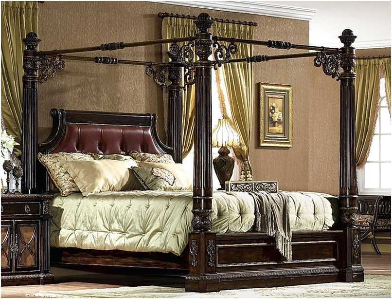King Size Canopy Bed Frame Plans