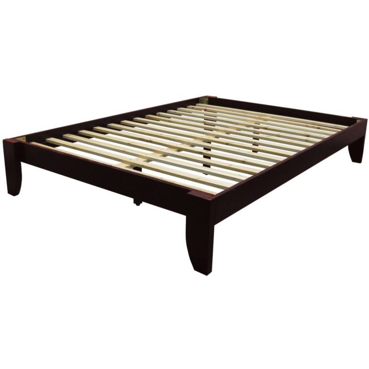 King Size Platform Bed Frame Without Headboard