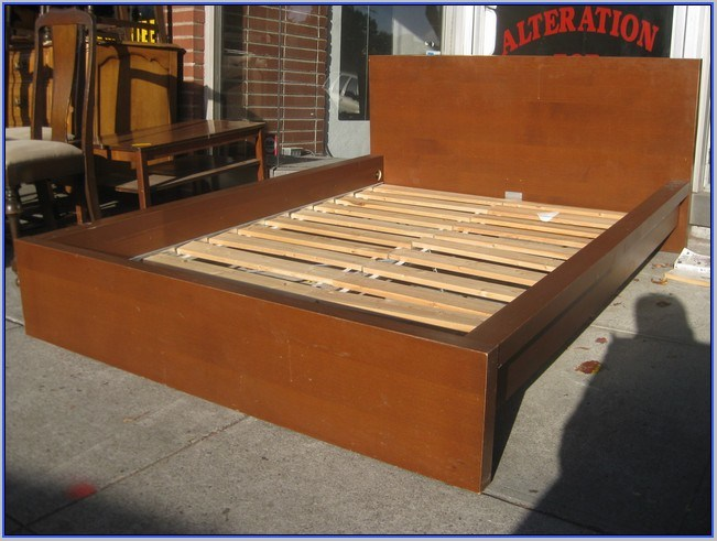 King Size Platform Bed Frames For Sale