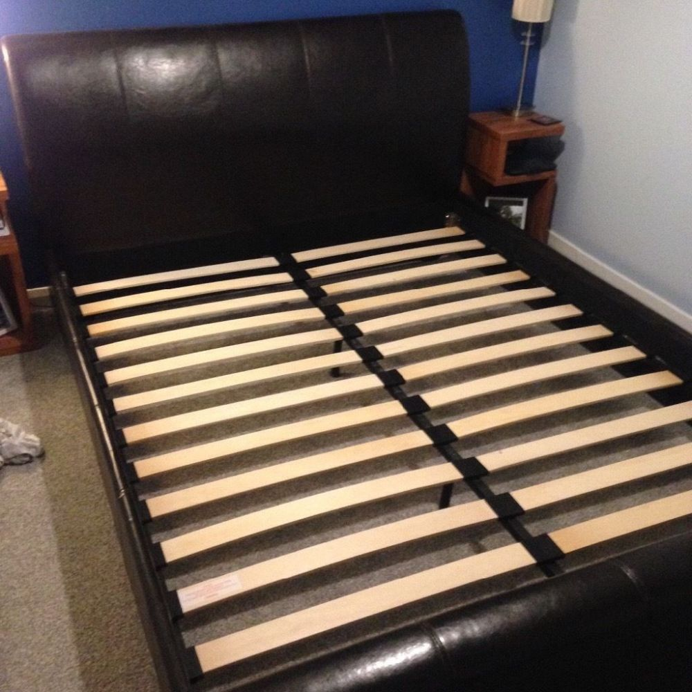 King Size Sleigh Bed Frame For Sale