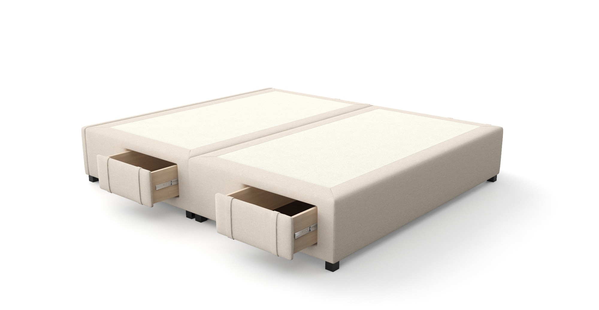 King Size Upholstered Bed Frame With Storage