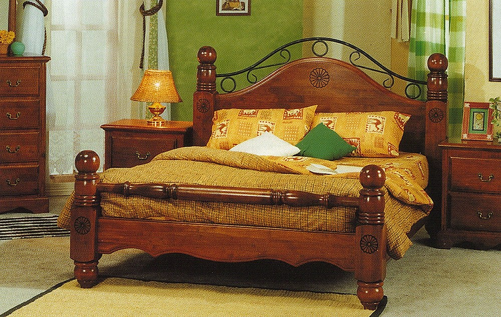 King Size Wood Bed Frame