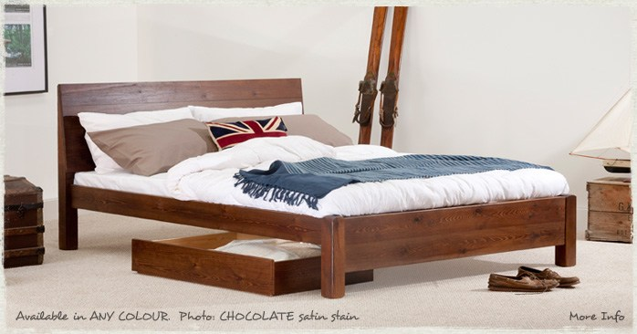 King Size Wooden Bed Frame Ebay