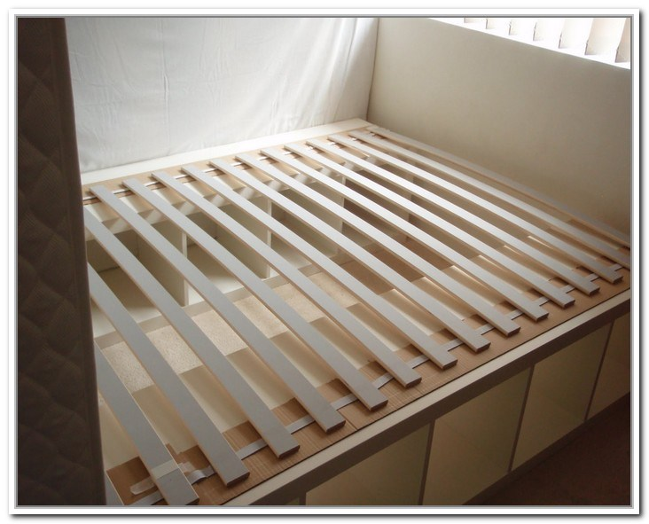 King Storage Bed Frame Plans
