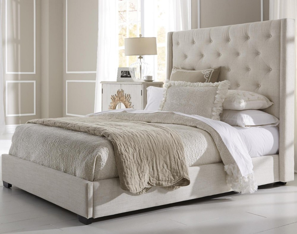 King Tufted Bed Frame