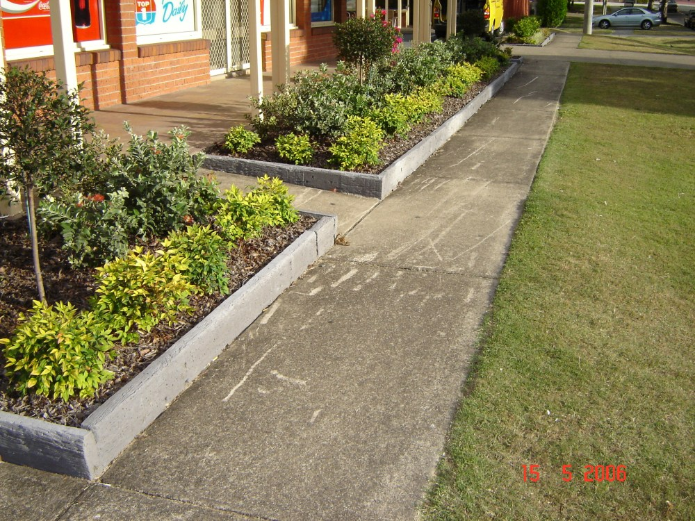 Landscape Border Ideas Cheap