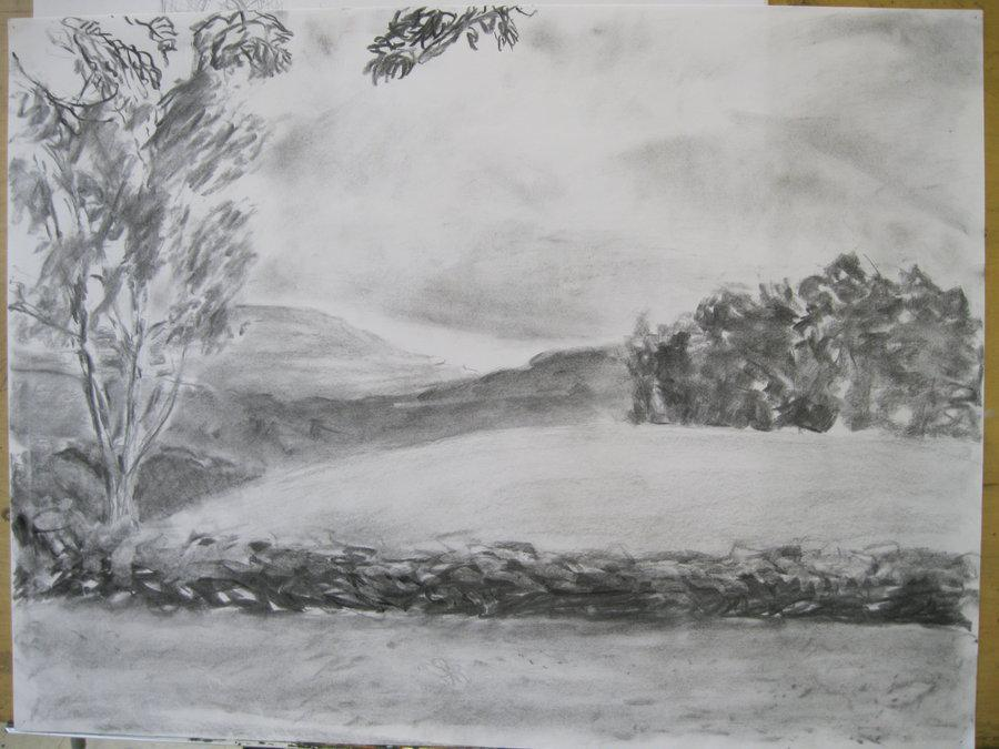 Landscape Drawing Ideas Easy