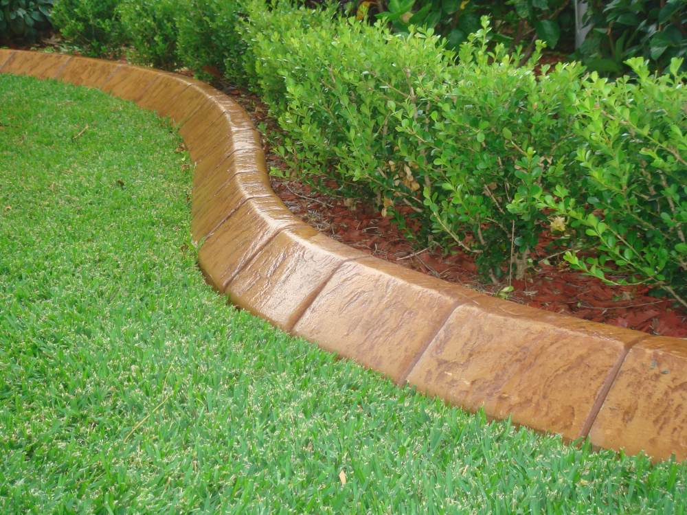 Landscape Edging Ideas Concrete