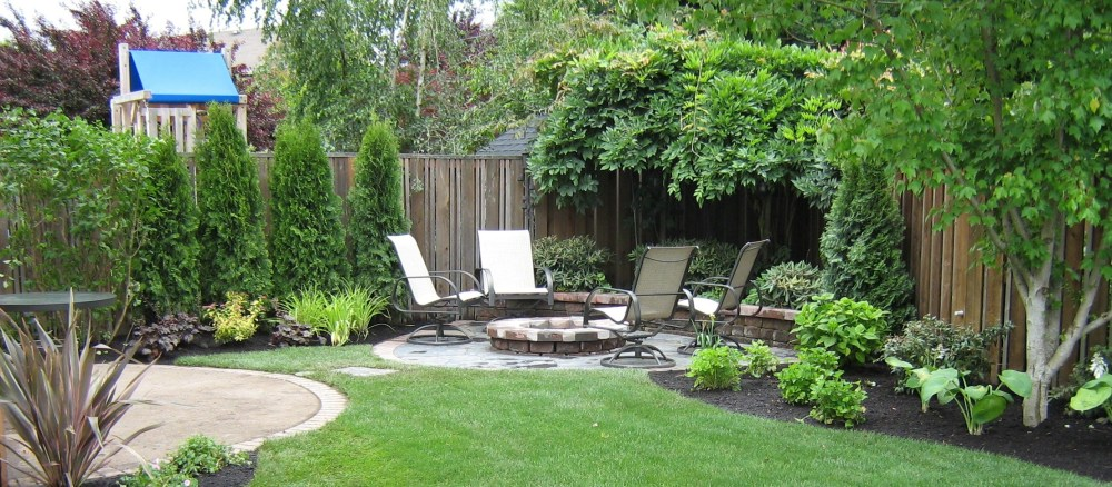 Landscape Ideas For Backyard Corner